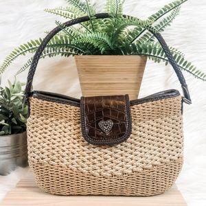 Brighton Sydney Straw Handbag